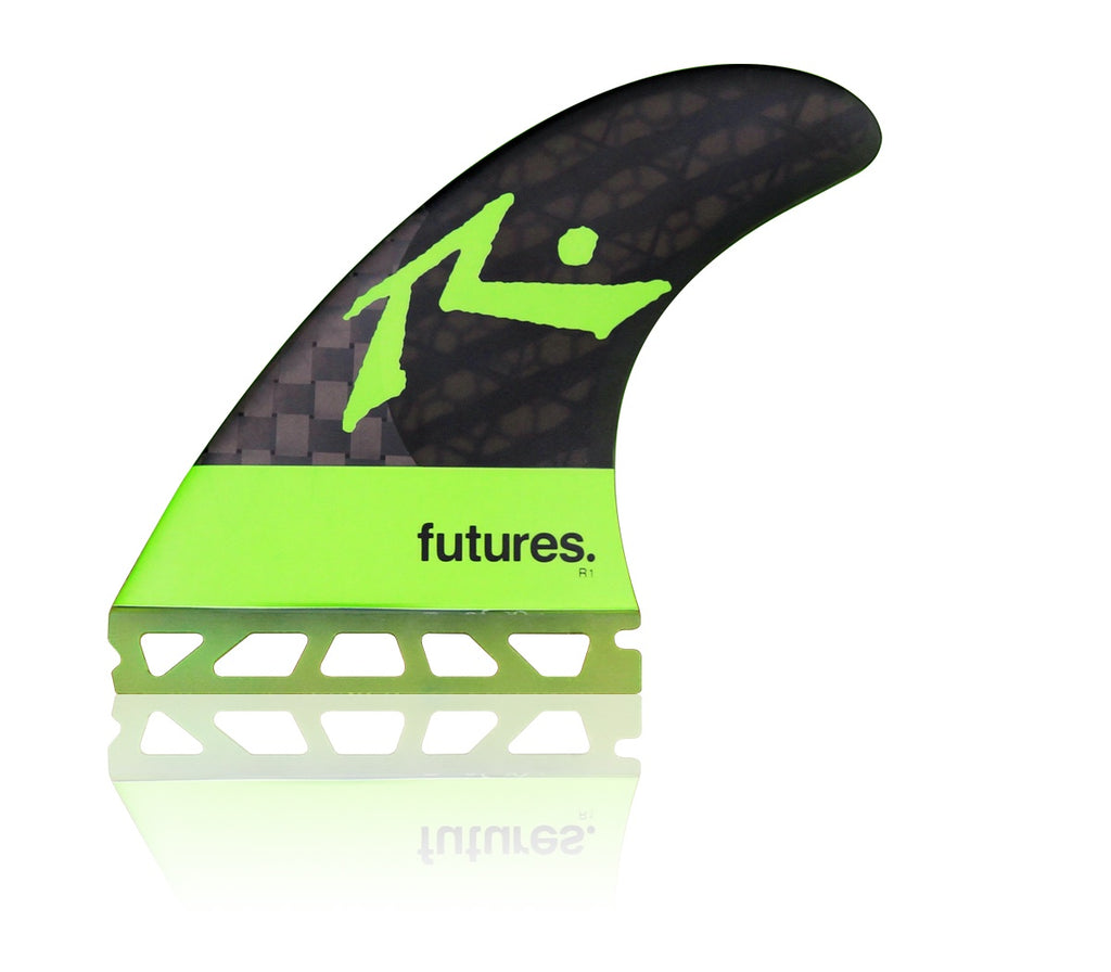 FUTURES // V2R1 BLACKSTIX 3.0 THRUSTER - LIGHT GREEN