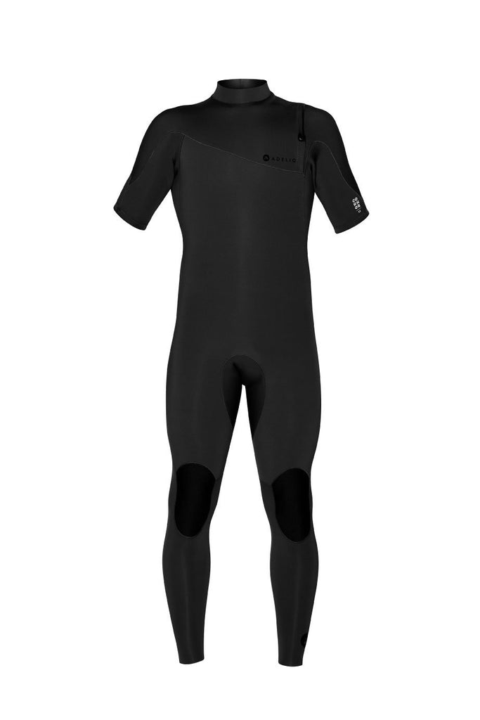ADELIO CONNOR 2/2 BLACK ZIPPERLESS SHORT ARM FULL WETSUIT