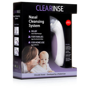 CLEARinse Electric Nasal Aspirator (50pk)