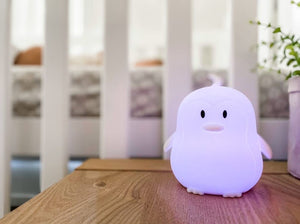 Soft Silicon Night Light - Penguin