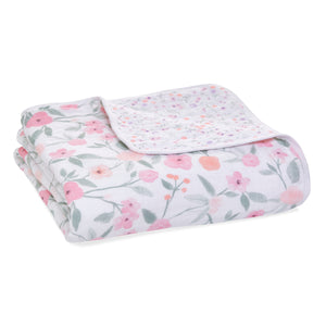 Cotton Muslin Ma Fleur - Garden Party classic dream blanket