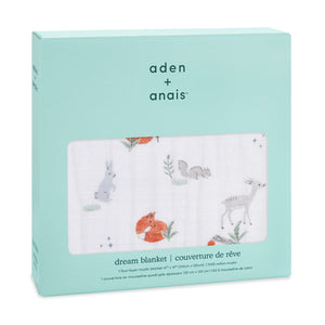aden + anais Naturally - Forest classic dream blanket