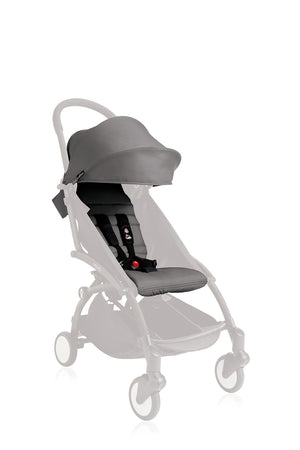 YOYO/YOYO+ 6+ Seat Pad and Canopy Only - Grey