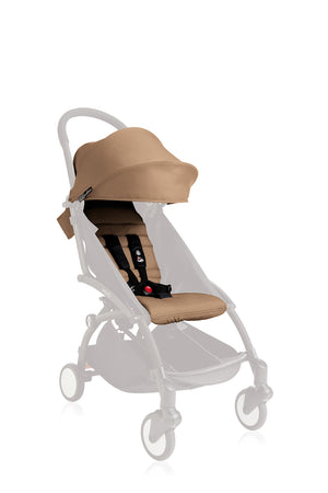 YOYO/YOYO+ 6+ Seat Pad and Canopy Only - Taupe