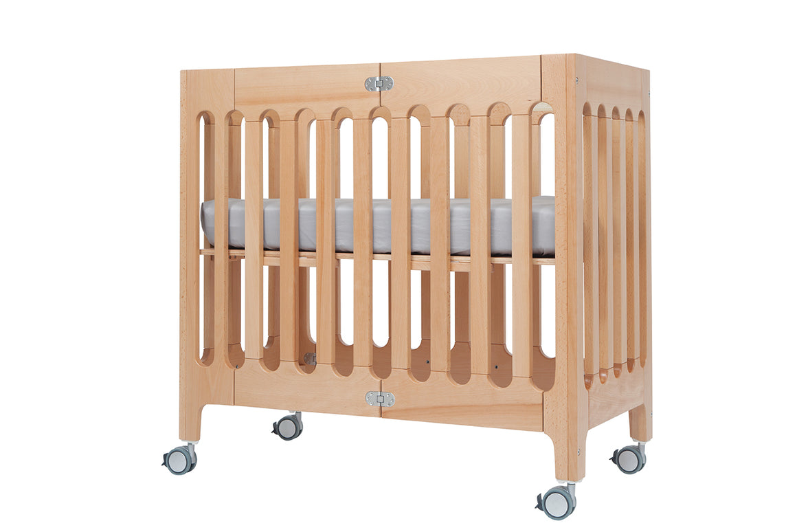 Alma Mini Crib Natural (excluding mattress) (STOCK AVAILABLE EARLY JULY)