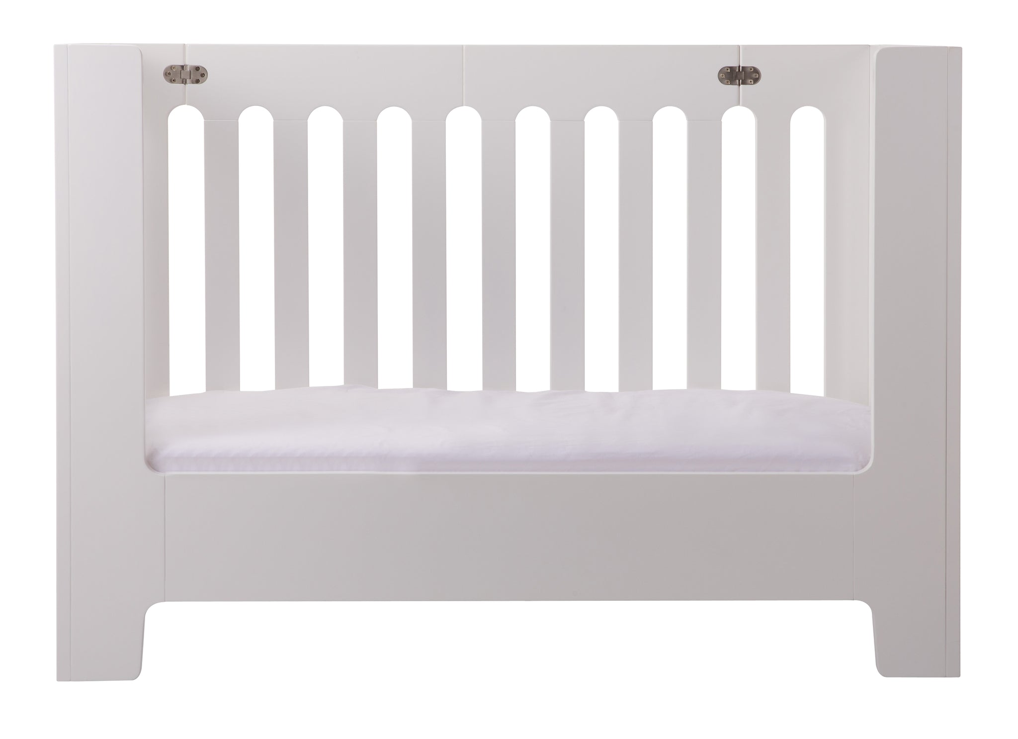 Devoted Bloom Alma Max Crib Toddler Rail White Coconut Excellent Condition Baby Nursery Furniture
