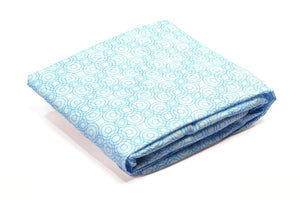 Alma Papa Lollipop Fitted Sheets Blue