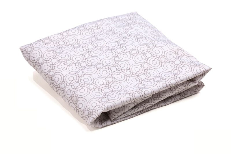 Luxo Sleep Lollipop Fitted Sheet Frost Grey
