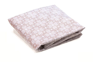 Luxo Sleep Lollipop Fitted Sheet Henna Brown