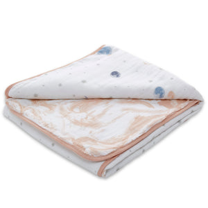 aden + anais essentials to the moon classic muslin blanket