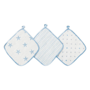 aden dapper muslin washcloths 3-pack