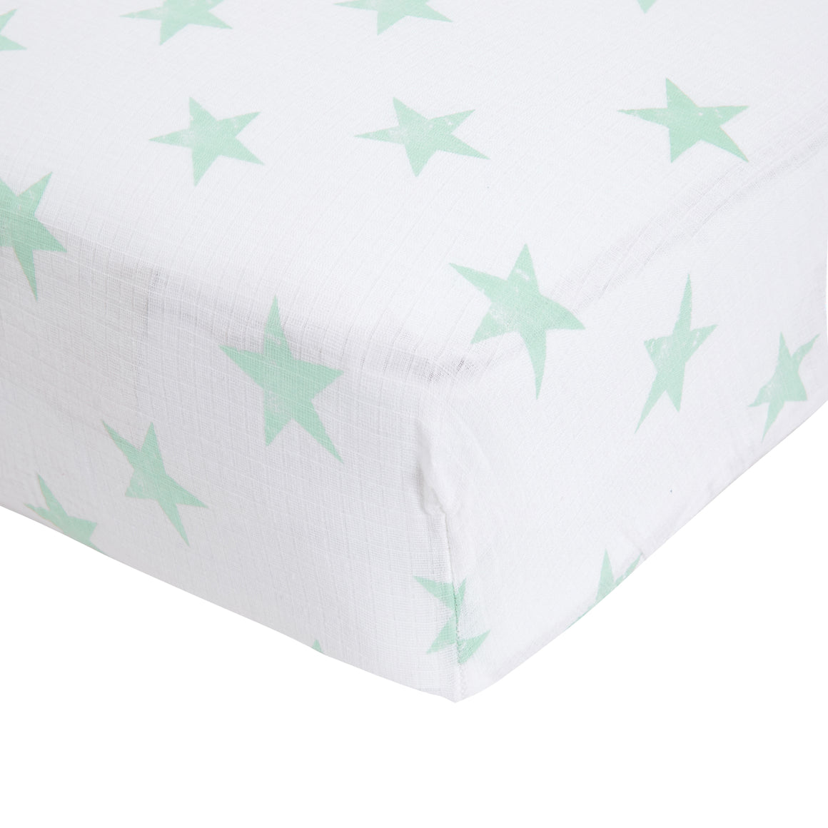 aden dream classic muslin fitted cot sheet single