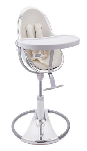 Fresco Highchair Metallic Series + Fresco Chrome Seat Pad Starter Kit - ALL COLOURS