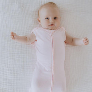 Essentials Pink Twinkling Stars Newborn Snug Swaddle 0-3 months 2pk