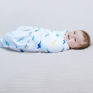 Copy of Essentials wrap swaddle 3pack - Dino Rama 4-6 months
