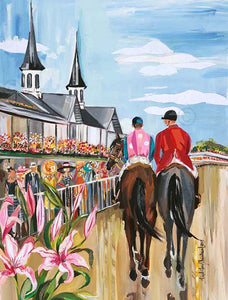 2017 Oaks Original Painting