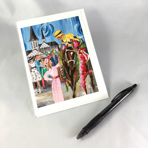 2018 Derby Greeting Card
