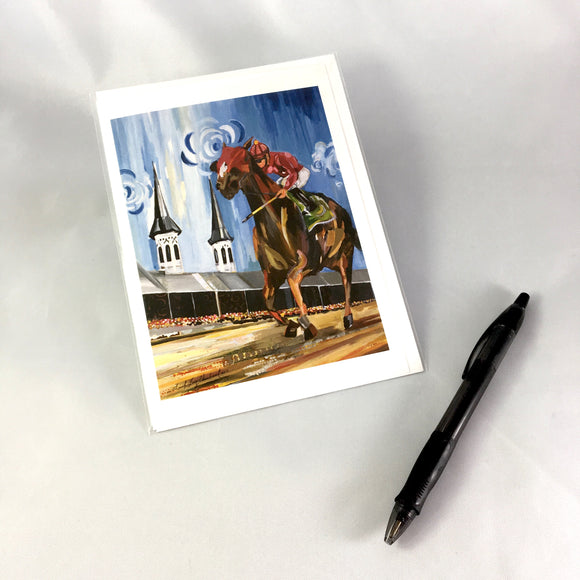 2017 Derby Greeting Card