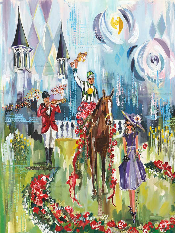Kentucky Derby Design 2021 Print