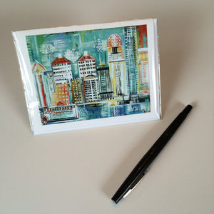 2014 Louisville Skyline Greeting Card