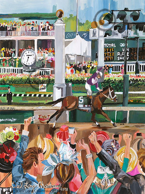 Kentucky Derby Design 2019 Print