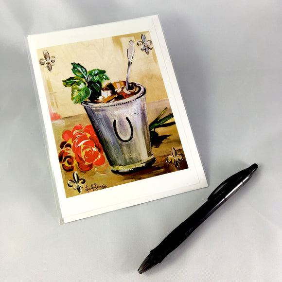 2016 Mint Julep Design Greeting Card