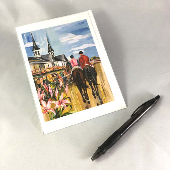 2017 Oaks Greeting Card