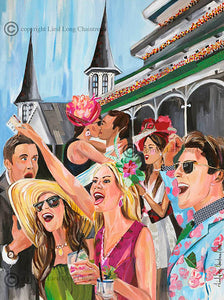 2018 Oaks Original Painting