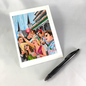 2018 Oaks Greeting Card