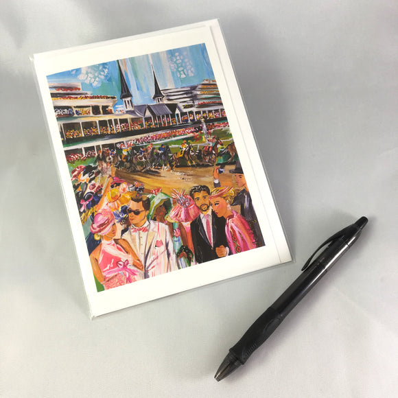 2016 Oaks Greeting Card