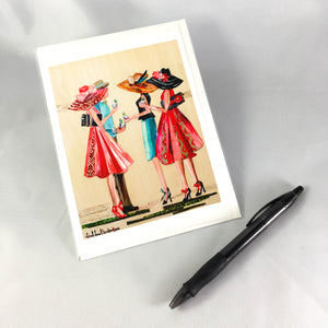 2018 Off to the Races Greeting Card