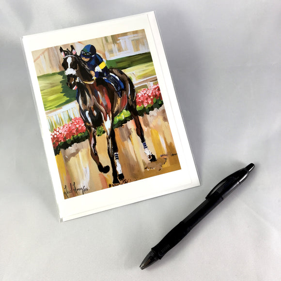 2016 Trot Design Greeting Card