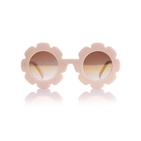 Pixie - Sand Pearl w/ Mirror Sunglasses