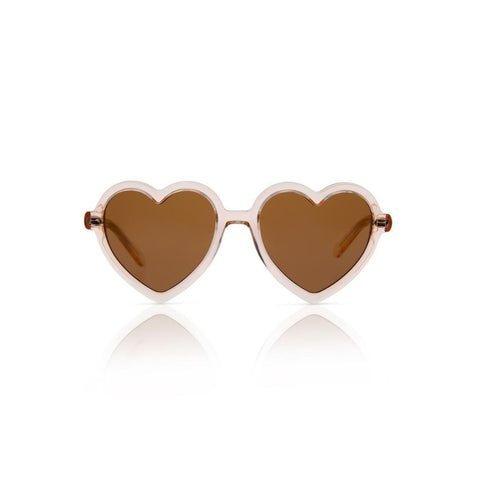 Lola - Transparent Champagne Sunglasses