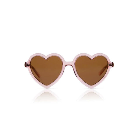 Lola - Transparent Rose Sunglasses