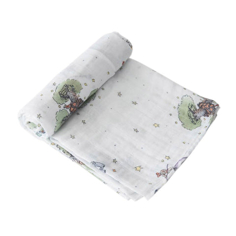 Cotton Muslin Swaddle Blanket - The Little Prince