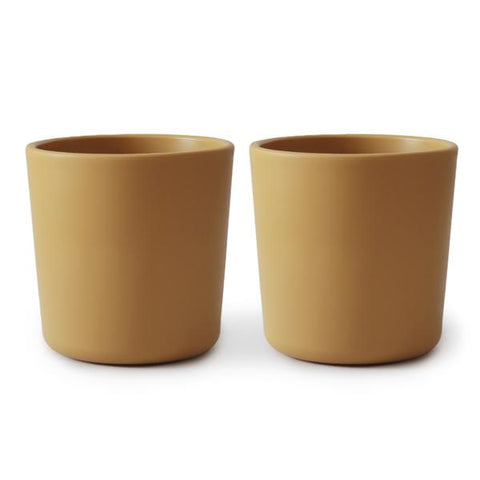 Dinnerware Cups, Set of 2 (Mustard)