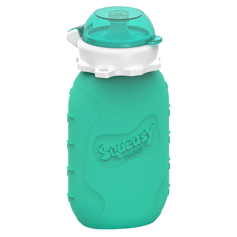 Squeasy Snacker Silicone Reusable Collapsible Bottle 180ml