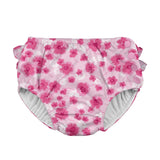 Snap Reusable Absorbent Swimsuit Diaper - Light Pink Poppy
