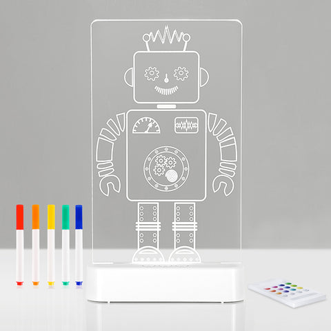 Aloka LED Colour Me And Shine - Robot