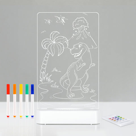 Aloka LED Colour Me And Shine - T-Rex
