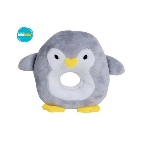 BibiBaby Cuddle Rattle - Percy Penquin