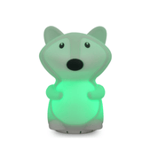 Duski Fox LED Silicone Rechargeable Night Light with Bluetooth Speaker