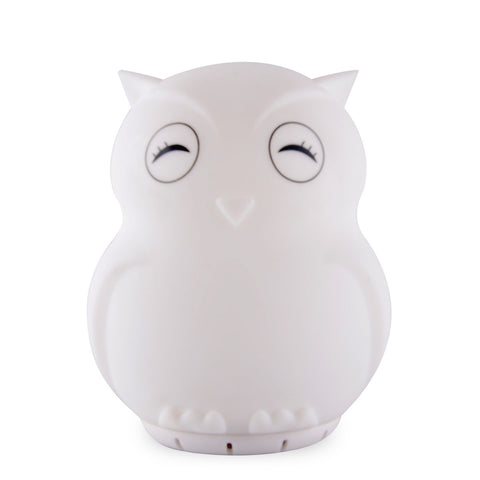 Duski Rechargeable LED Bluetooth Speaker Night Light - Owl