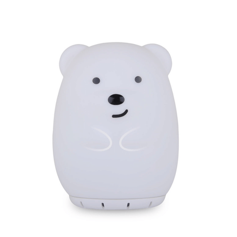 Duski Rechargeable LED Bluetooth Speaker Night Light- Bear