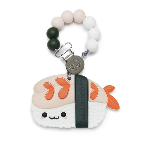 Silicone Teether with Metal Clip - Ebi
