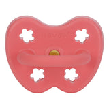 Hevea Pacifier - Coral (Orthodontic, 3-36 months)