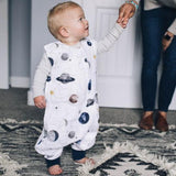 Little Unicorn Cotton Muslin Romper - Planetary