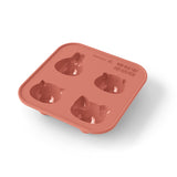 MB Silifriends Silicone Animal Cake Moulds, Set of 2 (Pink)