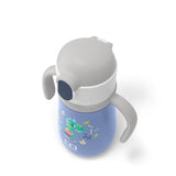 MB Stram | The insulated Kid's Drink Bottle - Blue Dino